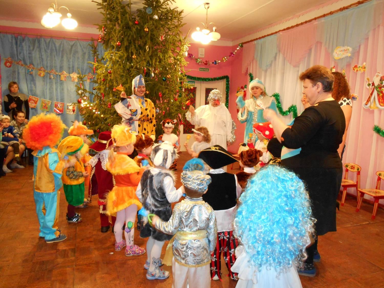 Сценарий на новый год в детском доме