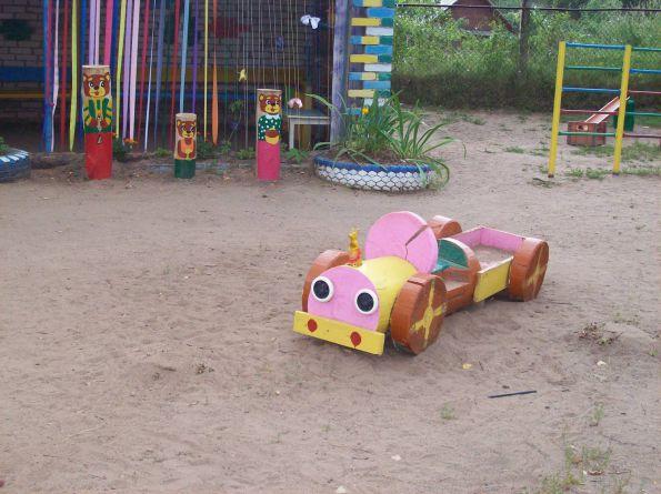 Обустройство детской площадки в детском саду своими руками 10