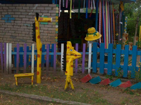 Обустраиваем детскую площадку в детском саду